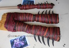 How to Train Your Dragon Valka (Hiccup's Mom) Costume - 2