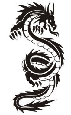 Dragon Tribal Tattoo Designs, ] ~ Popular Tattoo Design - Clip Art tribal dragon tattoo - Tattoos And Body Art Tribal Dragon Tattoos, Dragon Tattoos For Men, Maori Tattoos, Marquesan Tattoos, Dragon Tattoo Designs, Tribal Tattoo Designs, Samoan Tattoo, Tattoos For Guys, Polynesian Tattoos