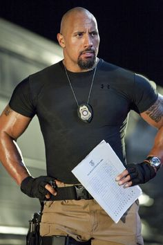mmmmm.... Dwayne Johnson! - Click image to find more People Pinterest pins