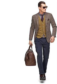 Jacket Brown Check Havana C682   Suitsupply Online Store