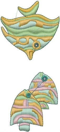 Free Saltwater Fish Embroidery Design | AnnTheGran
