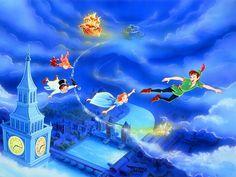 Peter Pan Wallpaper