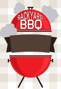 Barbecue party invitation #BBQ