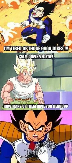 Damn you, Kakarot!