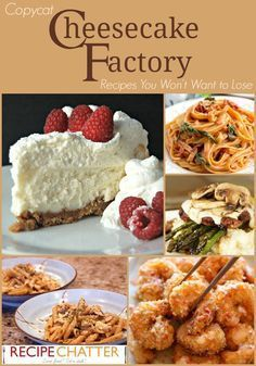 Copycat Cheesecake Factory Recipes Youll Never Want to Lose | copycat Cheesecake Factory cheesecake recipes main dis