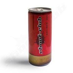 shoot club - KALIBER .250 ISO-Drink - Inhalt: 250ml ---  Nun haben wir noch eine zweite Erfrischung für alle Schützenbrüder!  Für alle die noch genug Energie haben aber dennoch etwas erfrischendes benötigen! Genau für Euch ist KALIBER .250! Es handelt sich dabei um ein Grapefruit-Zitrone ISO Getränk in einer verdammt coolen Verpackung. Wir geben Euch die Munition um das Durst Problem zu lösen! Kaliber .250 kommt in einer auffälligen roten Dose deren Optik ganz bewusst an die einer…