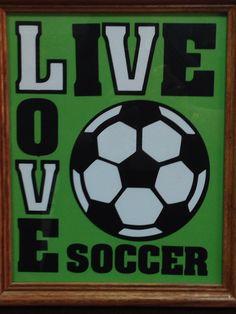 Soccer sign