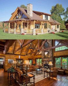Conan 40 Log Cabins · Page 10 of 20 · Zucchini: A Power House of Nutrition Dating back to 7000 B. Log Cabin Living, Small Log Cabin, Log Cabin Homes, Small Log Homes, Modern Log Cabins, Casas Country, Cabins And Cottages, Style At Home, Cabin Plans