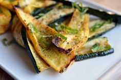 Broiled Zucchini (or Eggplant)   Award-Winning Paleo Recipes   Nom Nom Paleo  #21dsd #veggies #nomnom