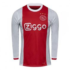 ajax 2017 18 season godenzonen ls home shirt
