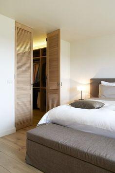 Narrow Closet Design, Bedroom Closet Design, Home Room Design, Home Bedroom, Bedroom Decor, Master Bedroom, Floor Colors, Home Decor Inspiration, Home And Living