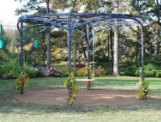 Branch Circular Pergola | Detroit Garden Works Assembly required -  Moveable! made by www.thebranchstudio.com