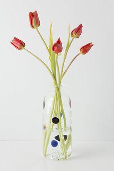 Anthropologie - Dots & Smudges Vase