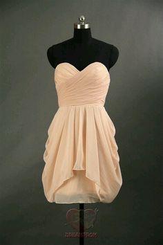 Sweetheart neckline draped short dress