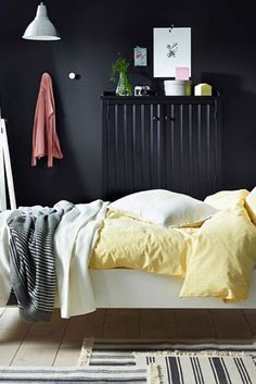 Awesome ikea bedroom ideas for small roomsjust on mafahomes.com Cheap Bedroom Sets, Cute Bedroom Ideas, Pretty Bedroom, Stylish Bedroom, Bed Ideas, Bedroom Inspiration, Modern Bedroom, Big Bedrooms, Luxury Bedrooms