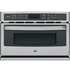 GE PSB9100SFSS Profile Advantium 27' Stainless Steel Electric Single Wall Oven - Convection -- Learn more by visiting the image link.