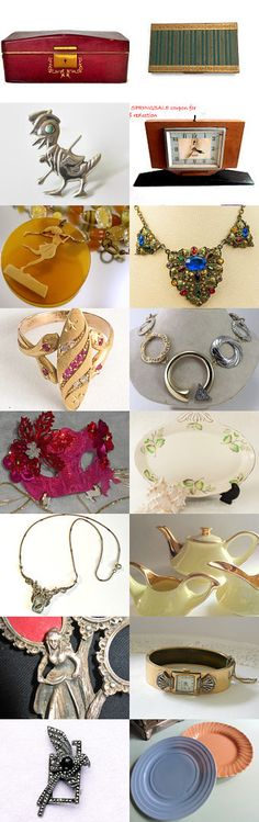 #voguet In Vogue with Art Deco by Betty J. Powell on Etsy--Pinned+with+TreasuryPin.com