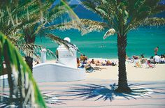 There's nothing better than dipping into the blue ocean at Fort Lauderdale beach near the main campus!