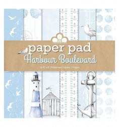 Craftwork Cards - Paper Pad - Harbour Boulevard