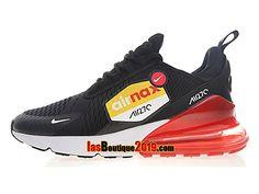 new styles 366c9 96683 Nike Air Max 270 Big Logo Noir Rouge AH8050-015 Chaussure Nike Sportswear Pas  Cher