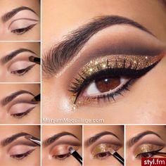 Znalezione obrazy dla zapytania makijaż na wesele dla brunetek