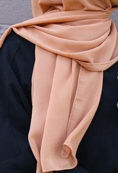 """Dubai"" Chiffon Hijab - The Hijab City"