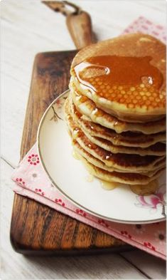 Pancakes, Breakfast, Party, Recipes, Matki, Foods, Interior, Morning Coffee, Food Food