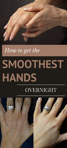 Learn how to get the smoothest hands overnight. 11 Beauty Hacks Every Girl Should Know Dry Hands Remedy, Coconut Oil Hair Mask, Beauty Tips For Teens, Hand Care, Young And Beautiful, Beautiful Hands, Feet Care, Skin Care Tips, Skin Tips