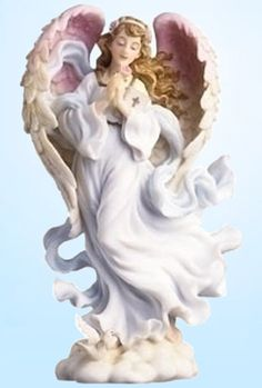 I love these angels. Have a ton of them :) they make me smile. Seraphim Angels
