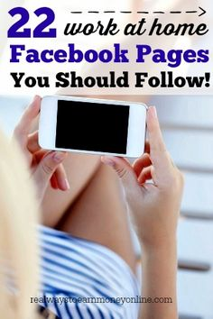 Here's a list of more than 22 quality work at home Facebook pages you can follow for legitimate, regularly updated work at home information. via @RealWaystoEarn