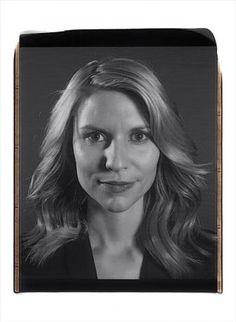 Chuck Close portrait of Claire Danes