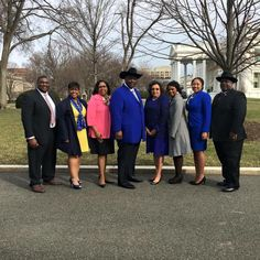 This week, International President Mary Breaux Wright, NPHC President and Zeta member Jennifer Jones and National Program Manager Krysta Jones joined fellow Greek presidents and representatives, including Phi Beta Sigma International President Jonathan A. Mason, Sr., at the White House to discuss criminal justice reform.