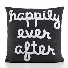 "Alexandra Ferguson ""Happily Ever After"" Decorative Pillow 