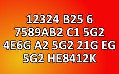 Can you decrypt hidden message (12324 B25 6 7589AB2 C1 5G2 4E6G A2 5G2 21G EG 5G2 HE8412K)?