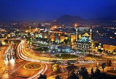 [Ultimul Padişah – Partea a doua] Kayseri - a city of lights and prosperity Still Of The Night, Light Trails, Hercules, City Lights, Mosque, Land Scape, Travel Mug, Paris Skyline, Beautiful Places