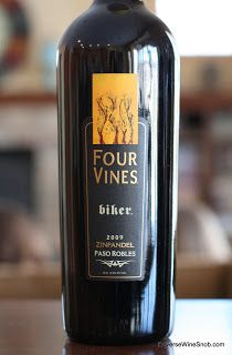 Four Vines Paso Robles Biker Zinfandel 2009 - BFFs with BBQ Sauce.