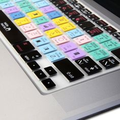 Silicon Keyboard Cover with Illustrator Shortcuts (US Layout) for 13 / 15 MacBook