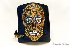Porte-monnaie en cuir, portefeuille, Calavera Leather Working, Fashion Backpack, Backpacks, Bags, Etsy, Accessories, Coin Purses, Wallet, Unique Jewelry