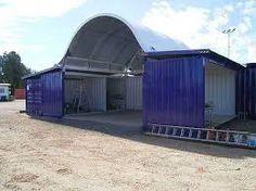 Resultado de imagem para shipping containers garages