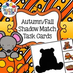 This download contains 18 different task cards. All comes in col option - no b/w.There are 2 task cards per page.Students have to choose 1 out of 3 possible answers to match the image to their shadow.There are instructions included on the front page of the document.