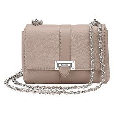 Pin for Later: Make This Year Your Mum's Chicest Yet Aspinal of London Lottie Chain Across Body Leather Bag Aspinal of London Lottie Chain Across Body Leather Bag (£395)