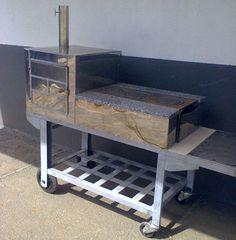 modelo de aço Rocket Stoves, Bar Drinks, Barbacoa, Firewood, Oven, New Homes, House Design, Storage, Kitchen