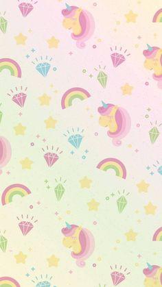 Wallpaper de unicórnios fofos para celular e whatsapp