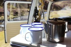 Available for weddings and self-drive hire. Based in SW Scotland. Vw Campervan Hire, Fridge Shelves, Scotland Tours, Camper Interior, Serving Utensils, Self Driving, Car Detailing, Classic Cars, Interiors