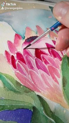 Painting proteas Painting proteas Orangerinka watercolor and acrylic art orangerinka Art by orangerinka original watercolor and acrylic paintings art homedecor This nbsp hellip Painting videos Acrylic Art, Acrylic Paintings, Watercolor Paintings, Original Paintings, Painting Art, Watercolors, Protea Flower, Flowers, Guache