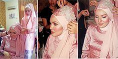 Beautiful pink wedding clothes