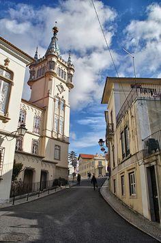 Atrás da prefeitura (Sintra, Portugal)