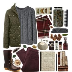A fashion look from August 2013 featuring La Garçonne Moderne sweaters, Barbour jackets and MARC BY MARC JACOBS leggings. Browse and shop related looks.