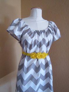 Gray Grey Bridesmaid Dress | $71 | Etsy | wedding ceremony reception bridesmaids maid of honor silver