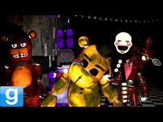PLAYABLE ANIMATRONICS! - Gmod Five Nights At Freddy's 2 Pill Pack Mod (Garry's Mod) - YouTube